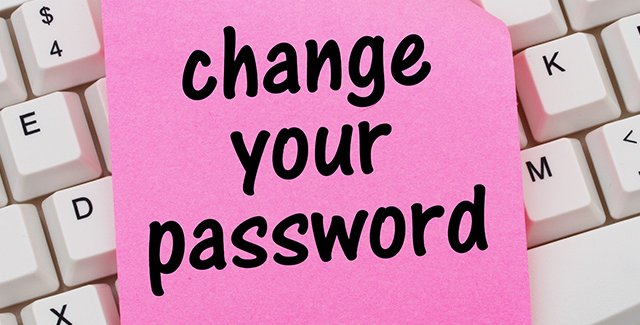 Changing your password? Featured Image