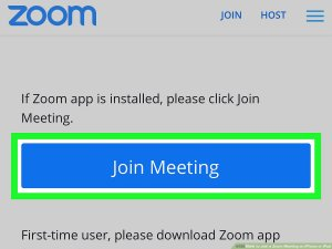 "Familiar Zoom ""join meeting"" screen"